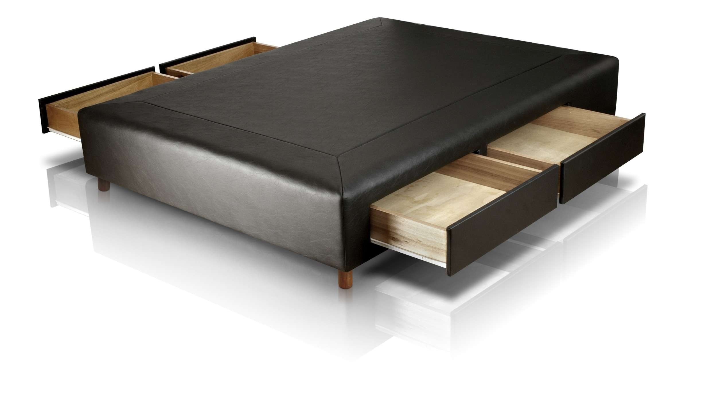 Box Con 4 Cajones 2 Plazas 1 90 X 1 40 En Ecocuero